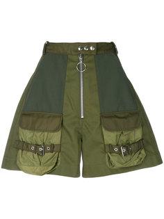 """шорты с высокой талией в стиле """"милитари"""" Marquesalmeida"""