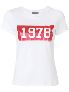 футболка с принтом 1978 Calvin Klein Jeans