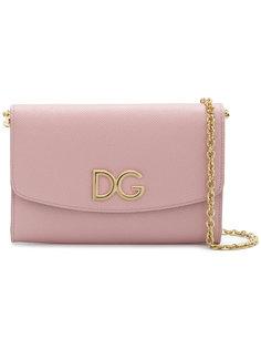 клатч с цепочной лямкой Dolce & Gabbana