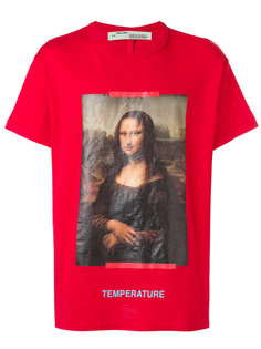 футболка с принтом Mona Lisa Off-White