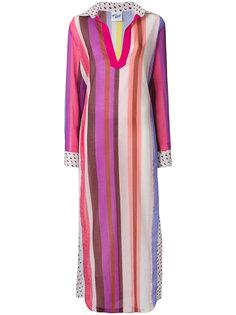 пляжное платье в полоску  Michel Klein