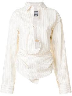 асимметричная блузка  Jacquemus