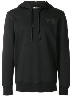 толстовка с капюшоном и логотипом Y-3