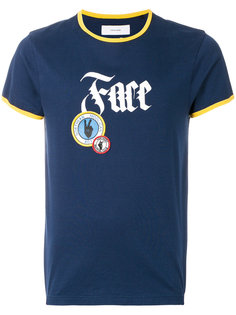 футболка с заплаткой с логотипом Facetasm