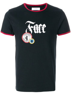 футболка с короткими рукавами  Facetasm
