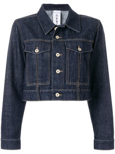 укороченная джинсовая куртка  Carven