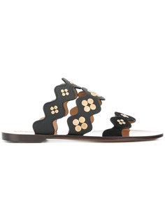 сандалии с заклепками Lauren Chloé