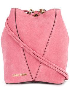маленькая сумка-мешок  Miu Miu