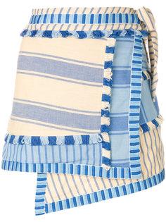асимметричная полосатая юбка Dodo Bar Or