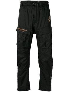 спортивные брюки Fire Cross Marcelo Burlon County Of Milan