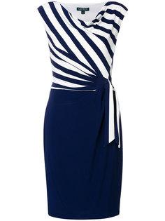 платье в полоску с запахом  Ralph Lauren