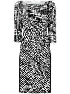 приталенное платье с принтом  Ralph Lauren