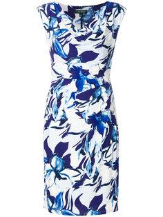 платье с абстрактным принтом  Ralph Lauren