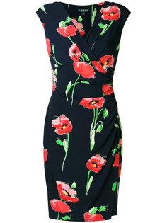 платье с цветочным принтом  Ralph Lauren