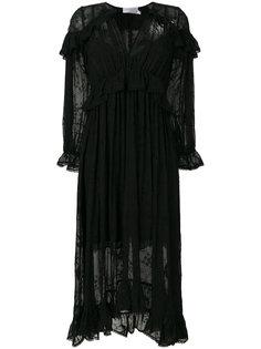 платье с вышивкой ришелье  Zimmermann