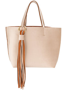 большая сумка-тоут с бахромой Alila