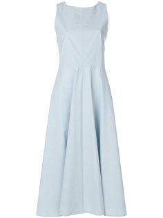 расклешенное платье без рукавов  Erika Cavallini
