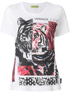 футболка с принтом логотипа Versace Jeans