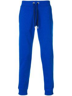 трикотажные брюки со шнурком  Versace Jeans