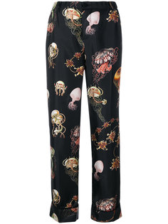 sealife print trousers  F.R.S For Restless Sleepers