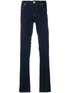 джинсы узкого кроя Versace Jeans