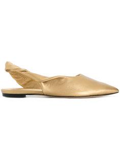 туфли-лодочки с открытой пяткой Sigerson Morrison