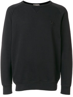 embroidered logo sweatshirt  Maison Kitsuné