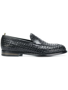 weave-design loafers Officine Creative