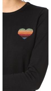 Bella Freud Disco Heart Sweater