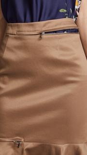 Monse Zip Trumpet Skirt