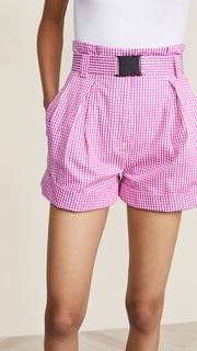 No. 21 Checked Shorts