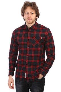 Рубашка в клетку Carhartt WIP Norton Shirt Navy/Alabama