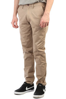 Штаны прямые Fred Perry Classic Twill Chino Coyote Brown
