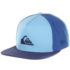Бейсболка с прямым козырьком Quiksilver Stuckles Snap Dusk Blue