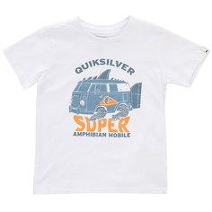 Футболка детская Quiksilver Amphibian Boy White