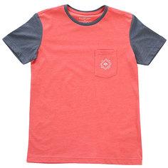Футболка детская Quiksilver Baysicpcktyth Mineral Red