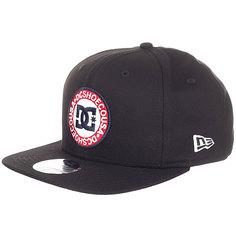 Бейсболка с прямым козырьком DC Speedeater Black