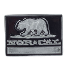 Пряжка Nor Cal Republic Black/Grey