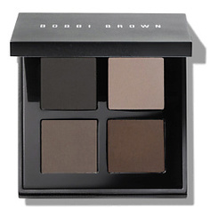 BOBBI BROWN Палитра теней для век Downtown Cool Eye Shadow Palette Cool Brown, Grey, Cool Grey, Brunette