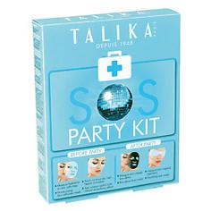 TALIKA Набор SOS PARTY Маска для лица шипучая Био-Детокс 25 г + Патч для глаз 3 мл + Маска-таблетка для уставших глаз 3 мл + Маска для лица увлажняющя 20 г