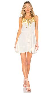 Короткое платье lucas - Cleobella