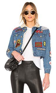 Джинсовая куртка patch - GCDS