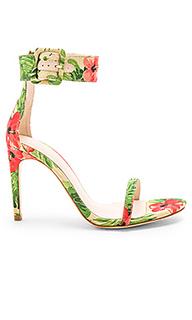 Туфли на каблуке с открытым носком addison - RAYE
