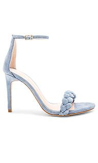 Туфли на каблуке с открытым носком lyka - RAYE