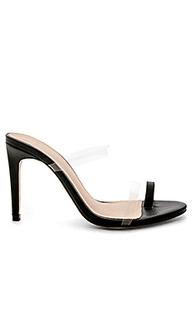 Туфли на каблуке с открытым носком bibi - RAYE