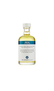 Масло для ванны kelp and microalgae - REN Skincare