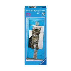 """Вертикальный пазл """"Любопытный котенок"""", 170 деталей, Ravensburger"""