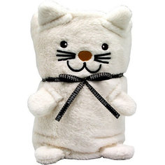 "Трансформер Плед-Игрушка ""Белый Котик"", 60x90 см, Coool Toys"