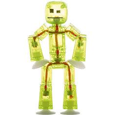 Игрушка-фигурка, желтая, Stikbot Zing