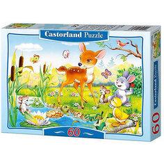"""Пазл Castorland """"Маленький олененок """" 60 деталей MIDI"""